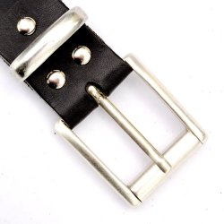 Classical leather belt