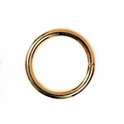 Small jump ring - bronze