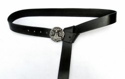 Larp-Belt Mjoelnir - black