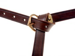 Late Medieval belt - brown