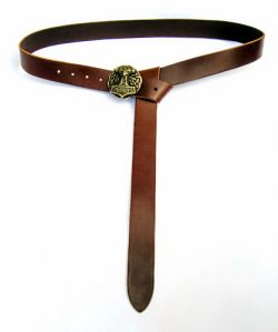 Larp-Belt Mjoelnir - brown
