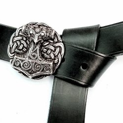 Larp-Belt with Mjoelnir-Buckle