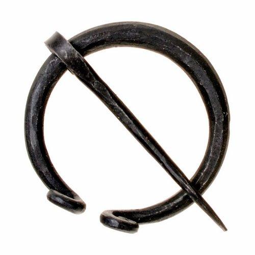 Mittelalter Gewandung WMK02 Wikinger Ringfibel Eisen fibel