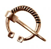 Baltic ring brooch replica - bronze