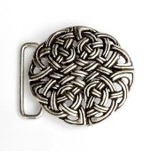 Buckle with Celtic knot work