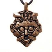 Gnezdovo Masken-Amulett