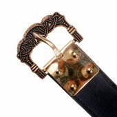 Viking belt with Gokstad buckle