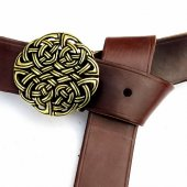 Larp-Belt with celtic knot buckle