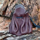 leather bag - large