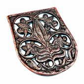 Magyar Pouch Mount - copper color