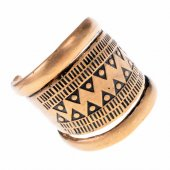 Wikinger-Fingerring - bronze